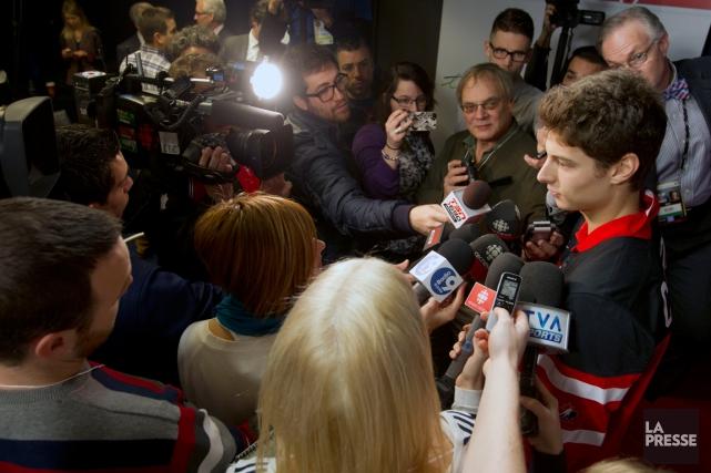 La sélection de Zachary Fucale par Équipe Canada... (Photo Olivier Jean, La Presse)