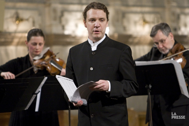 Daniel Taylor et son Theatre of Early Music... (Photo: archives La Presse)