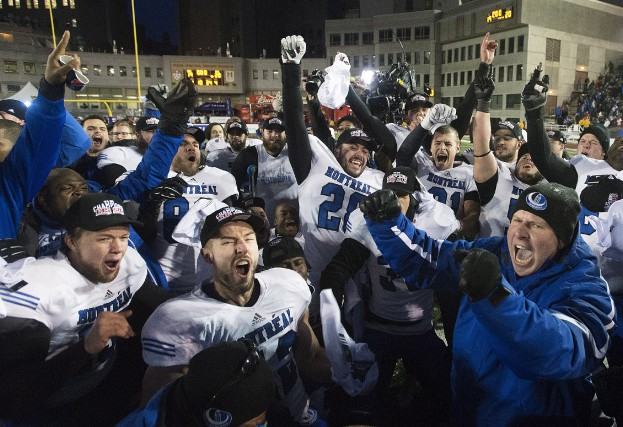 Jonathan Beaulieu-Richard, qui a quitté les Carabins en... (Photo: La Presse Canadienne)