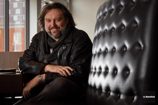Auteur prolifique et comblé, Bryan Perro renoue avec... (Photo: François Gervais Le Nouvelliste)