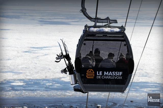 Selon le maire, l'épreuve de descente masculine serait... (Photo Bernard Brault, ARCHIVES La Presse)