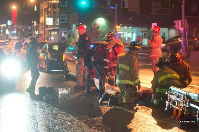 Même si le nombre total d'accidents a augmenté à Sherbrooke au cours de la... (Archives La Tribune)