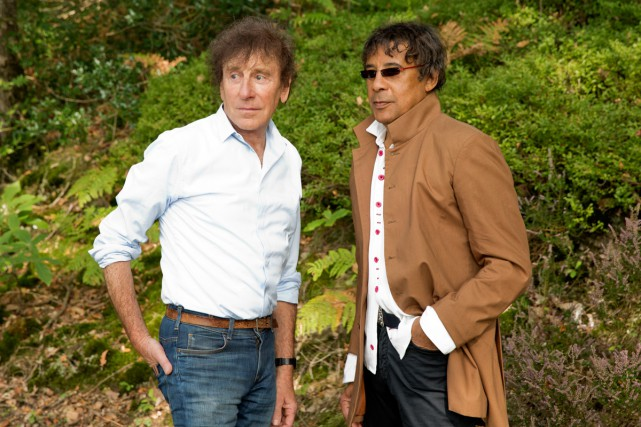 Alain Souchon et Laurent Voulzy ont souvent travaillé... (Photo: fournie par Warner)