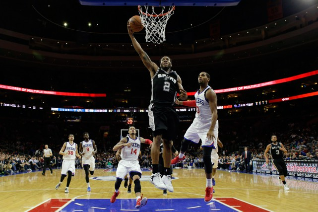 Les 76ers de Philadelphie se sont inclinés 109-103... (Photo Matt Slocum, AP)