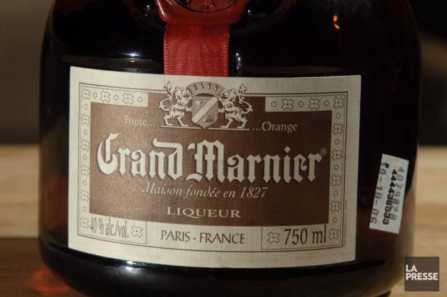 Grand Marnier a réalisé en 2013 un chiffre... (PHOTO MARTIN CHAMBERLAND, ARCHIVES LA PRESSE)