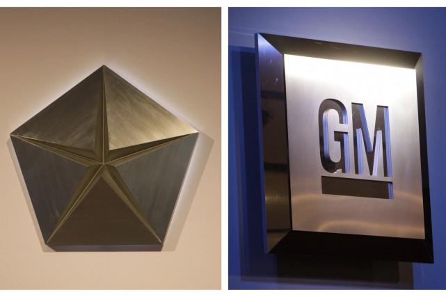 GM et Chrysler ont vu leurs ventes augmenter... (Photo archives AP)