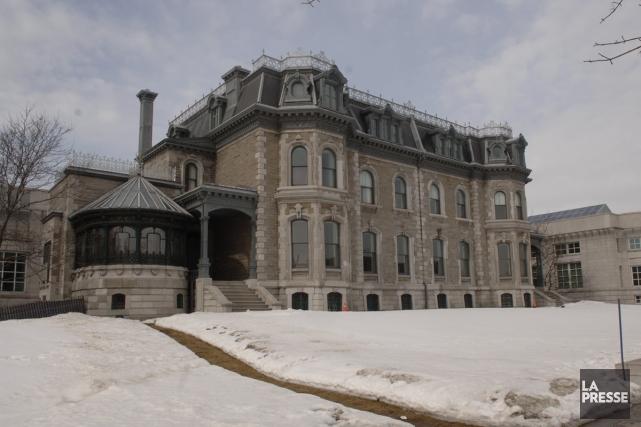 La maisonShaughnessy... (Photo: Martin Chamberland, La Presse)