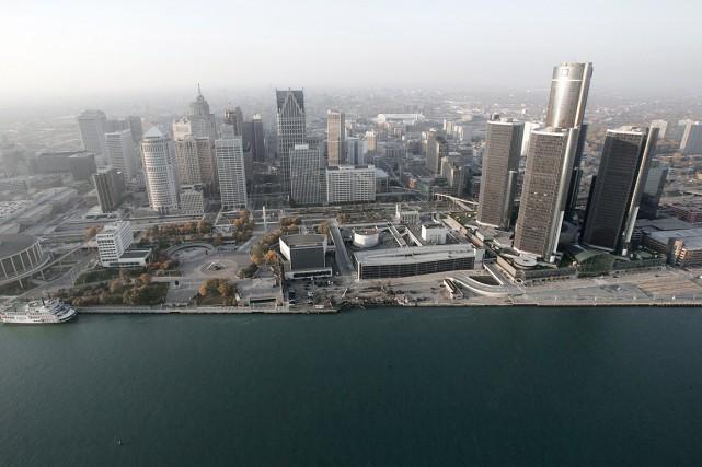 En 60 ans, Detroit, qui comptait en 2013... (PHOTO PAUL SANCYA, ARCHIVES AP)