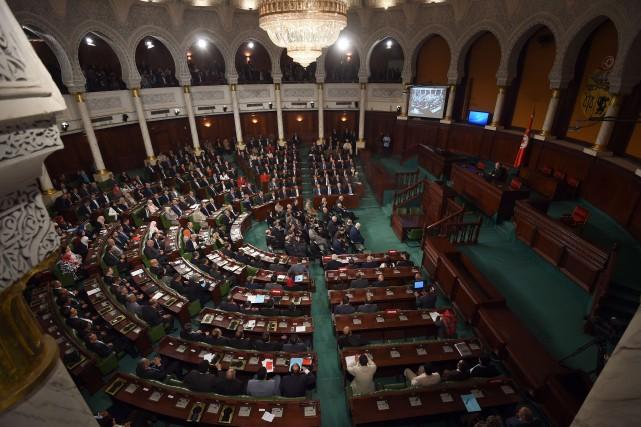 Le président de l'ancienne Constituante, Mustapha Ben Jaafar,... (PHOTO FETHI BELAID)
