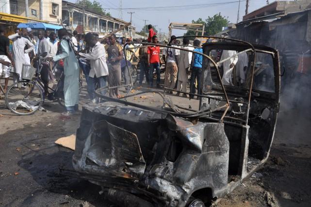 Au moins 16 personnes ont été tuées quand... (Photo Jossy Ola, AP)