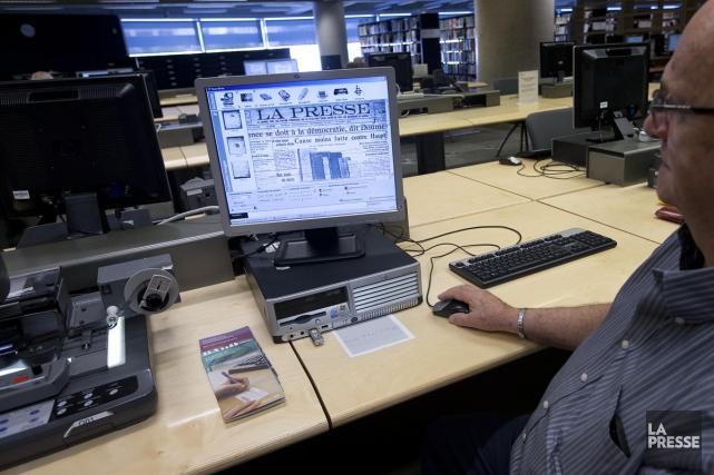 Les ressources de Bibliothèque et Archives nationales du... (Photo: Patrick Sanfaçon, La Presse)