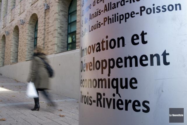 Innovation et Développement économique Trois-Rivières annonce l'abolition de... (Photo: Stéphane Lessard Le Nouvelliste)