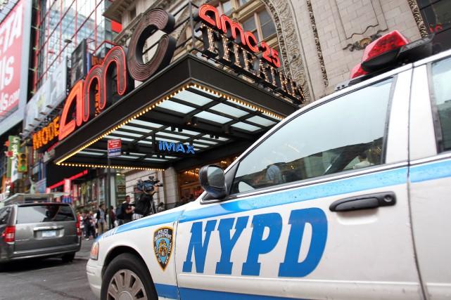 La criminalité a continué à baisser cette année à New York, pour atteindre des... (Photo Mehdi Taamallah, AFP)