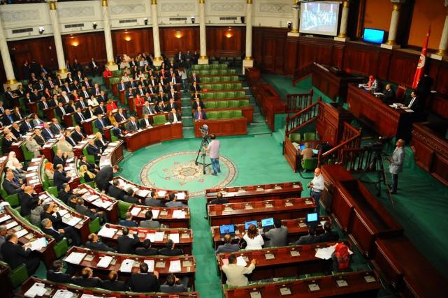 La première réunion del'Assemblée des représentants du peuple... (Photo Hassene Dridi, AP)