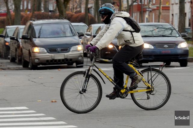 La belle saison arrive et les vélos sont de retour. À nouveau, il est à prévoir... (Photothèque Le Soleil, Erick Labbé)