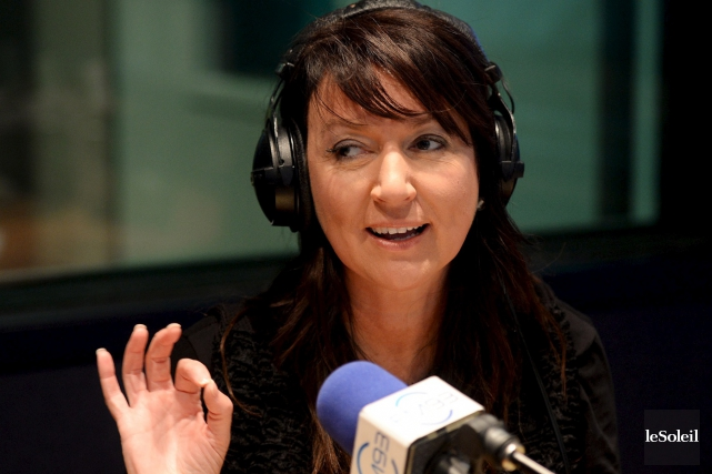 Nathalie Normandeau au FM93.... (PHOTO ÉRICK LABBÉ, ARCHIVES LE SOLEIL)