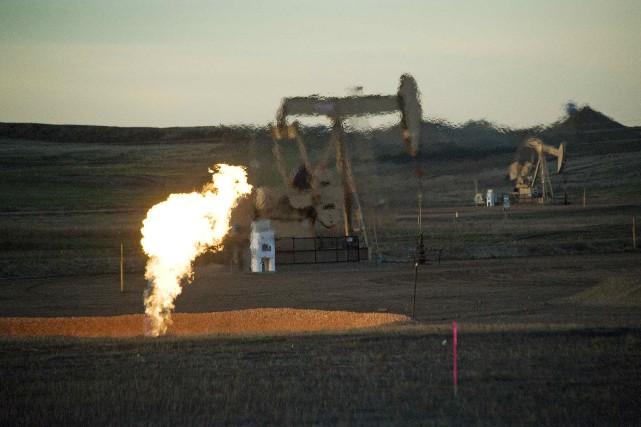 Le pétrole coté à New York a terminé en baisse mardi, un accord entre le... (Photo archives Reuters)