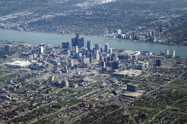 La ville américaine de Detroit a connu mardi une panne d'électricité majeure... (Photo archives AFP)