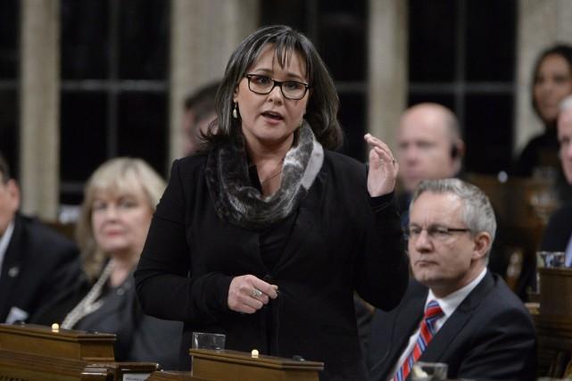 La ministre de l'EnvironnementLeona Aglukkaq... (Photo Adrian Wyld, La Presse Canadienne)