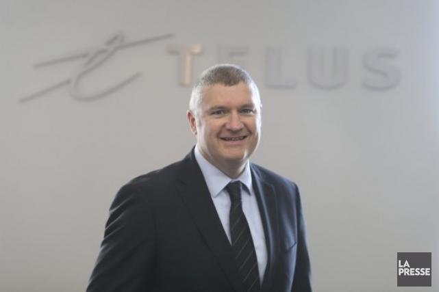 Paul Lepage, président de Telus Santé... (Photothèque La Presse)