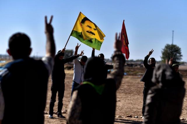Le Parti des travailleurs du Kurdistan est dans... (Archives AFP)
