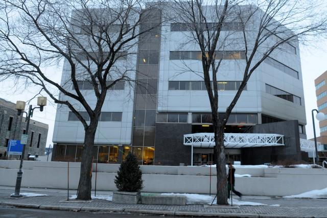 Palais de justice de Chicoutimi.... ((Archives))