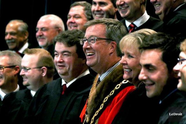 Le nouveau conseil d'Ottawa tiendra sa première réunion... (Patrick Woodbury, LeDroit)