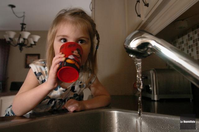 Il n'est plus nécessaire de faire bouillir l'eau... (Photo: François Gervais Le Nouvelliste)