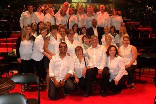 La Chorale canadienne Sensation, de Hawkesbury, sera dirigée... (Courtoisie)