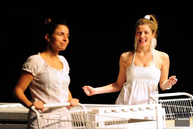Chantal Rivard et Cindy Rousseau sont de la... (Photo: Andréanne Lemire Le Nouvelliste)