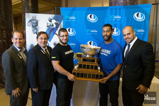 L'Université de Montréal a souligné hier la conquête... (Photo Robert Skinner, La Presse)
