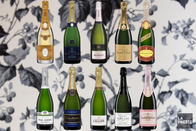 Rares sont les consommateurs qui aiment spontanément le champagne. (Photomontage La Presse)