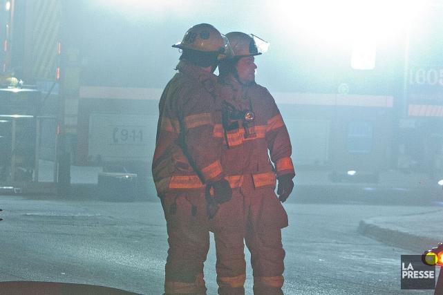 Des indices ont incité les autorités à se pencher sur les causes d'un incendie... (Archives La Presse)