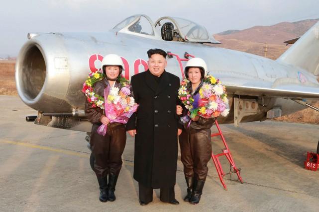 Sur cette photo prise à une date inconnue,... (PHOTO ARCHIVES AFP/KCNA)