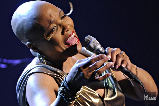 Dee Dee Bridgewater... (Photo: Bernard Brault, archives La Presse)