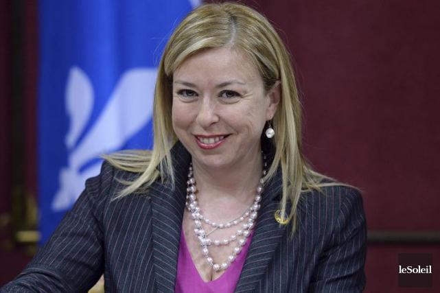 La ministre du Tourisme, Dominique Vien... (Photothèque Le Soleil, Erick Labbé)
