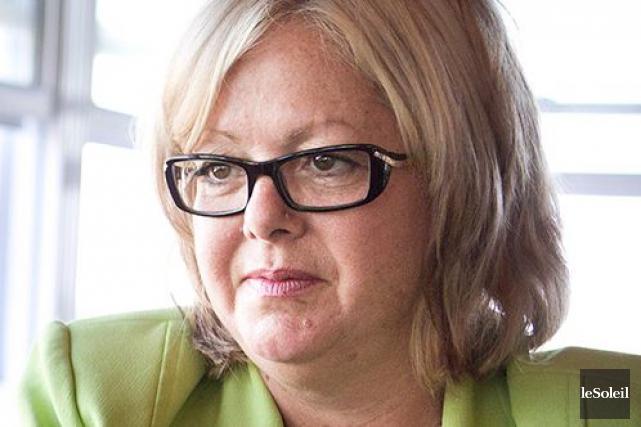 La députée caquiste Sylvie D'Amours... (Photothèque Le Soleil)