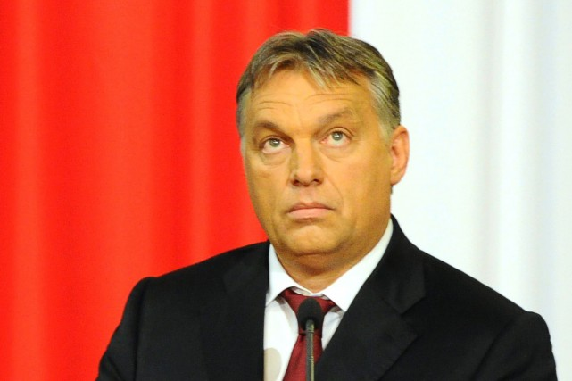 Le premier ministre hongrois Viktor Orban... (Photo archives AFP)