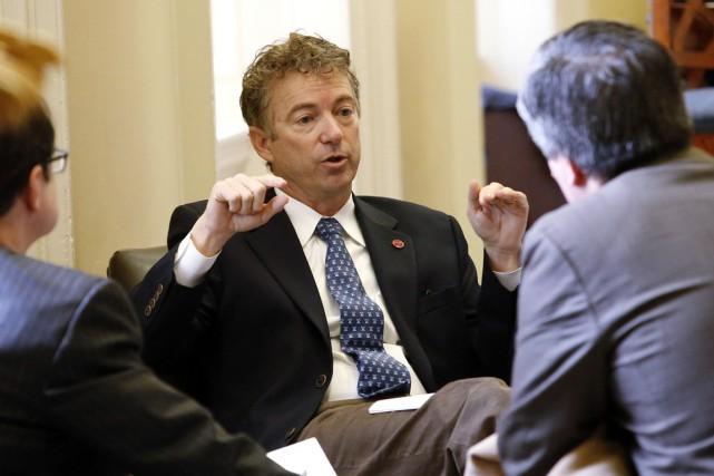 Le sénateur, 51 ans, est l'un des républicains... (PHOTO YURI GRIPAS, REUTERS)