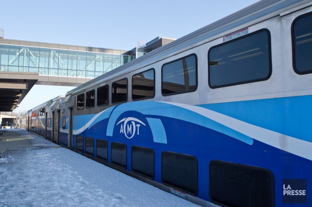 L'entrée en service du Train de l'Est et... (PHOTO HUGO-SÉBASTIEN AUBERT, LA PRESSE)
