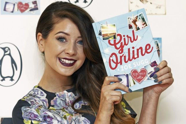 La britannique Zoe Sugg, alias Zoella, une blogueuse... (Photo: archives Reuters)