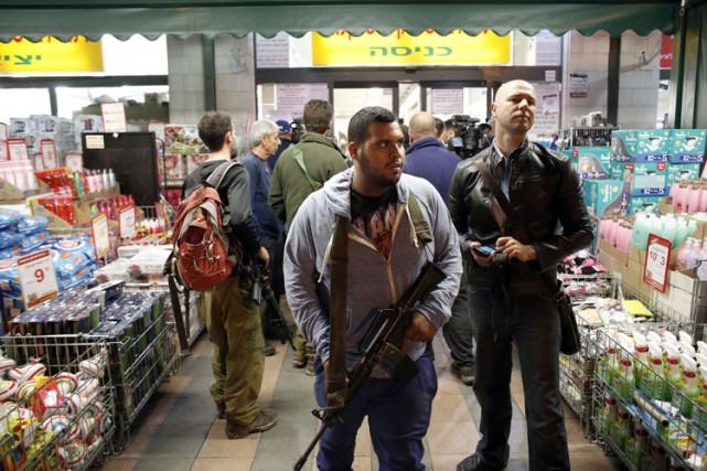 L'attaque est survenue dans un supermarché de la... (Photo: AFP)