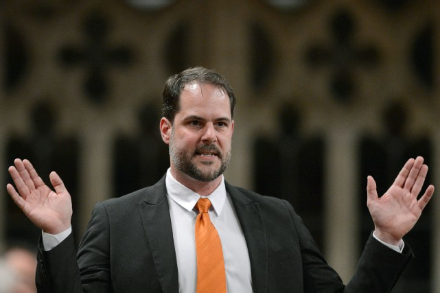 Le porte-parole néo-démocrate en matière d'éthique, Alexandre Boulerice,... (PHOTO ARCHIVES LA PRESSE CANADIENNE)