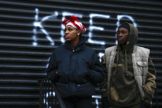 Deux femmes se sont rendues mercredi sur le... (Photo: Reuters)