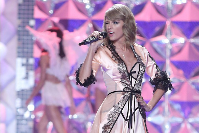 Taylor Swift a chanté lors d'un évènement Victoria's... (Photo: AP)