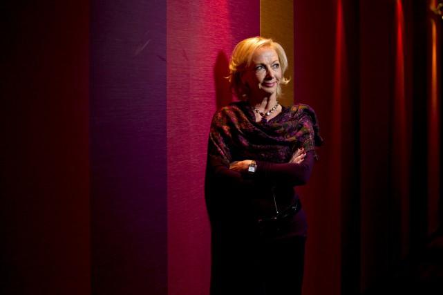Christiane Germain, co-présidente du Groupe Germain...