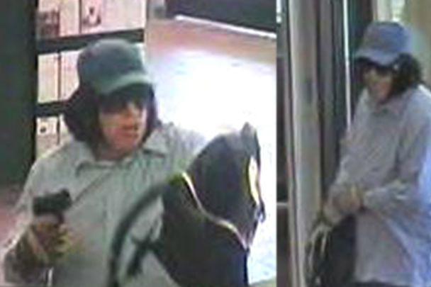 Pour ne pas se faire reconnaître, le voleur... (PHOTO FOURNIE PAR LA POLICE DE QUÉBEC)