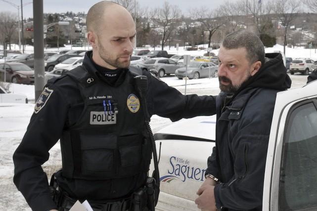 Marc Thibeault reste détenu au moins jusqu'à aujourd'hui,... ((Photo Rocket Lavoie))