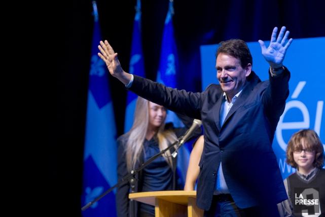 Beaucoup de péquistes voient Pierre Karl Péladeau comme... (Photo Olivier Jean, La Presse)