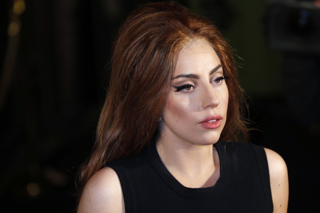 Lady Gaga... (Photo: Reuters)